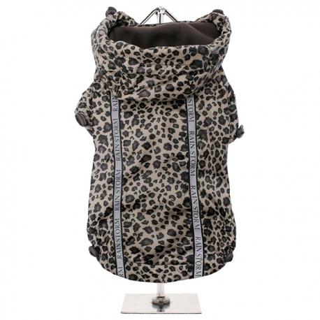 Imperméable pour chien léopard