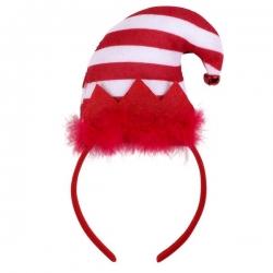 Serre tête Elfe de Noël pour chien