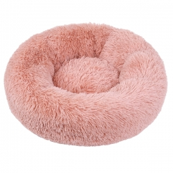 Couffin pour chien cocooning rose