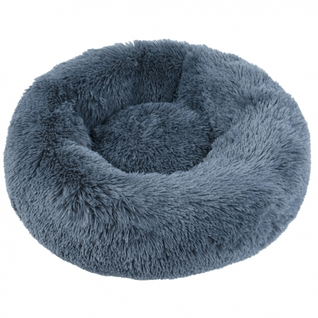 Couffin pour chien cocooning gris