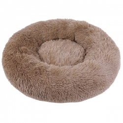 Couffin pour chien cocooning beige
