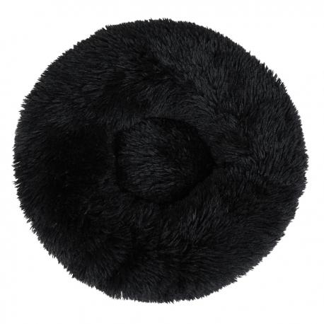 Couffin pour chien cocooning noir