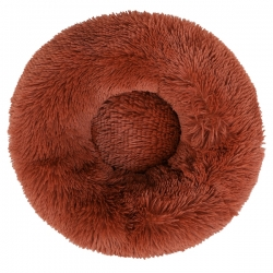 Couffin pour chien cocooning marron