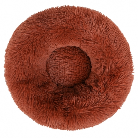 Couffin pour chat cocooning marron