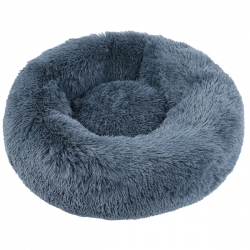 Couffin pour chat cocooning gris