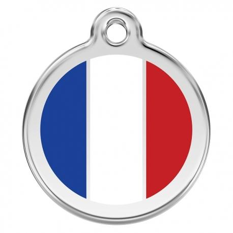Médaille pour chien à graver Cocorico