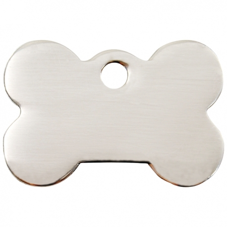 Médaille pour chien à graver os