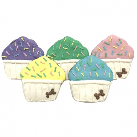 Biscuit pour chien cupcake