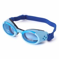 Lunettes pour chien bleu