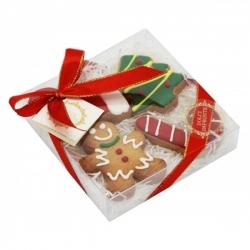 Coffret de biscuits pour chien Joyeux Noël