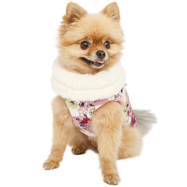Manteau pour chien Ikebana