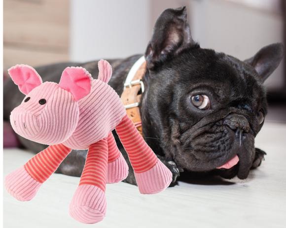 Jouet en forme de cochon pour chien - Oh ! Pacha