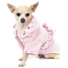 Peignoir pour chien et serviette