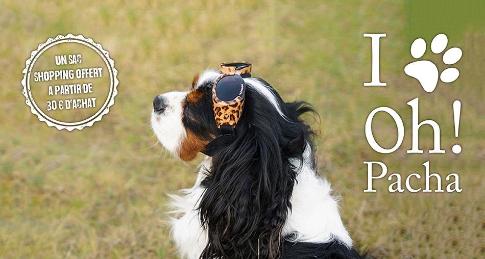 Lunettes pour chien léopard - Oh ! Pacha