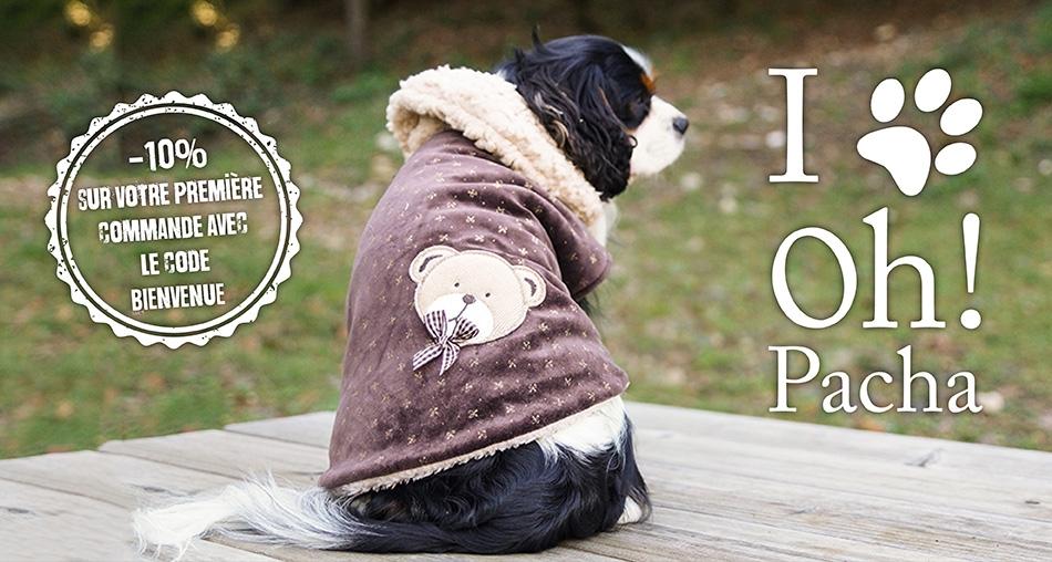 Manteau pour chien Mon Ours - Oh ! Pacha